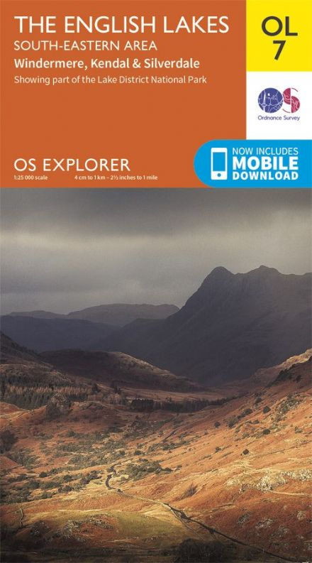 OS Explorer OL 07 The English Lakes - South Eastern Area